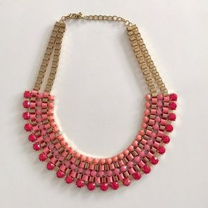 Jewelry - Ombré Pink Statement Necklace